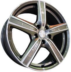Автомобильный диск литой Скад Адмирал 6,5x16 5/120 ET 54 DIA 67,1 алмаз-грей