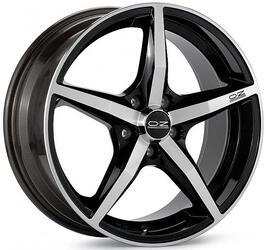Автомобильный диск Литой OZ Racing Canova 8x19 5/112 ET 35 DIA 75 Black + Diamond Cut