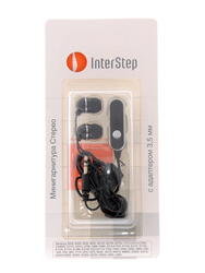 Гарнитура проводная InterStep IS-HF-SAG600GP-000B203