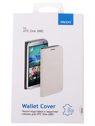 Чехол-книжка  Deppa для смартфона HTC One (M8)