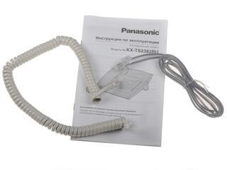 Телефон проводной Panasonic KX-TS2382RUW
