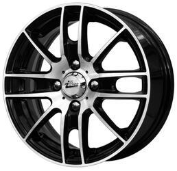Автомобильный диск литой iFree Тайлер 5,5x14 4/108 ET 24 DIA 65,1 Блэк Джек