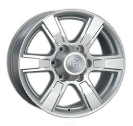 Автомобильный диск литой Replay GW2 7x17 6/139,7 ET 38 DIA 100,1 Sil