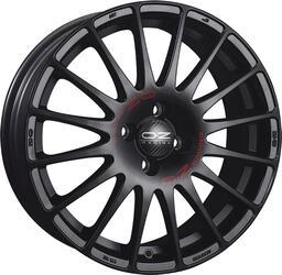 Автомобильный диск Литой OZ Racing Superturismo GT 7x16 4/108 ET 25 DIA 65,06 Matt Black + Red Lettering