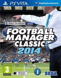 Игра для PS Vita Football Manager Classic 2014
