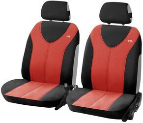 Чехол на сиденье H&R TROPHY FRONT передний, пайнэпл лайт, красный