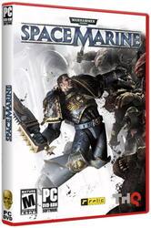 "[132403] Игра ""Warhammer 40.000: Space Marine"" DVD"