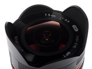 Объектив Samyang MF 7.5mm F3.5