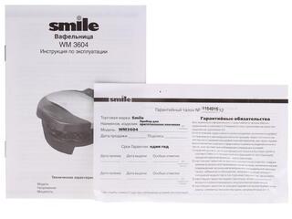 Вафельница Smile WM 3604 серебристый