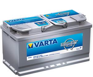 Автомобильный аккумулятор Varta START-STOP plus G14