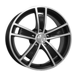 Автомобильный диск Литой K&K Диксон 6,5x15 5/114,3 ET 40 DIA 66,1 Алмаз черный