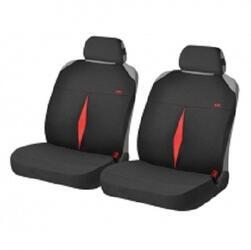 Накидка на сиденье H&R KARAT FRONT красный/черный