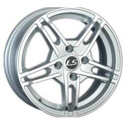 Автомобильный диск Литой LS 308 5x13 4/98 ET 35 DIA 58,6 White