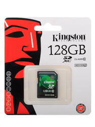 Карта памяти Kingston SDX10V/128GB SDXC 128 Гб