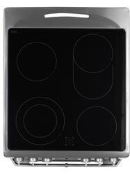 Электрическая плита Электрическая Hansa FCCX58277 серебристый, черный