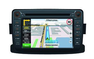 Автопроигрыватель Velas V-RDN + Navitel (for Renault Duster, Logan2013+, Sandero Stepway2013+)