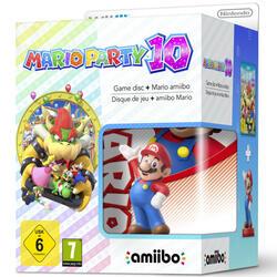"""Игра для Wii U """"Mario Party 10"""" + фигурка Amiibo"""