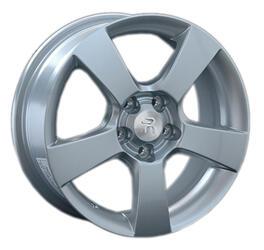 Автомобильный диск литой Replay OPL39 6,5x16 5/105 ET 39 DIA 56,6 Sil