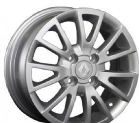 Автомобильный диск Литой Replay RN6 5,5x14 4/100 ET 43 DIA 60,1 Sil