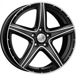 Автомобильный диск  K&K Барракуда 7,5x17 5/108 ET 35 DIA 67,1 Алмаз черный