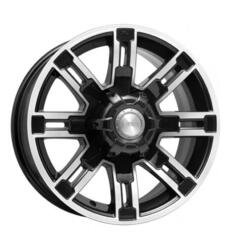 Автомобильный диск Литой K&K Полюс 7,5x16 6/139,7 ET 15 DIA 106,1 Алмаз черный