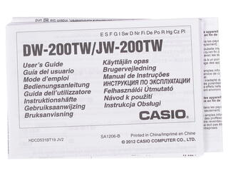 Калькулятор бухгалтерский Casio JW-200TW-RD-S-EH
