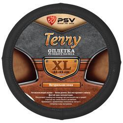 Оплетка на руль PSV TERRY черный