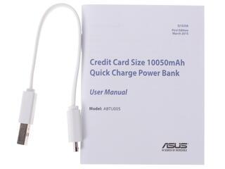 Портативный аккумулятор Asus ZenPower серебристый