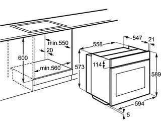 Электрический духовой шкаф Electrolux EOB 2200 BOX