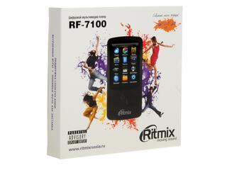 Мультимедиа плеер Ritmix RF-7100 черный