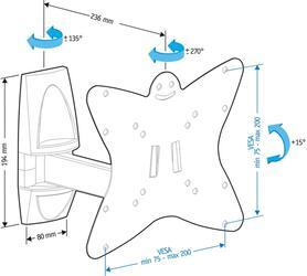 Кронштейн для телевизора Holder LCDS-5037