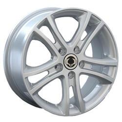 Автомобильный диск литой Replay SNG16 7x18 5/112 ET 43 DIA 66,6 Sil