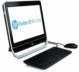 """20.1"""" Моноблок HP Pavilion AIO 20-b100er (HD+) AMD E1-1200 (1.4)/4GB/500GB/ AMD Radeon HD"""