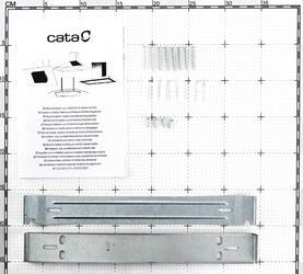 Вытяжка каминная Cata C 600 Black Glass черный
