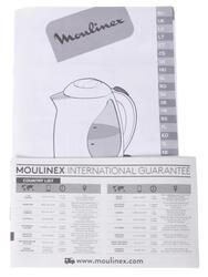 Электрочайник Moulinex SUBITO III BY540532 красный