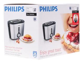 Тостер Philips HD2636/20 серебристый