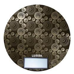 Кухонные весы Lumme LU-1317 Титан/орнамент