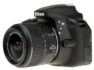 Зеркальная камера Nikon D3300 Kit 18-55mm VR II черный
