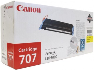 Картридж лазерный Canon 707Y