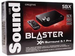 Внешняя звуковая карта Creative X-Fi Surround 5.1 Pro