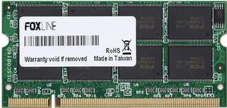 [184692] Модуль памяти SoDimm DDR II 1024Mb 800MHz Foxline (FL800D2S05-1G)