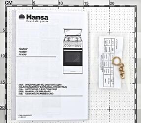Газовая плита Hansa FCMX59120 серебристый