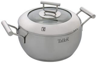Кастрюля Taller TR-1003 серебристый