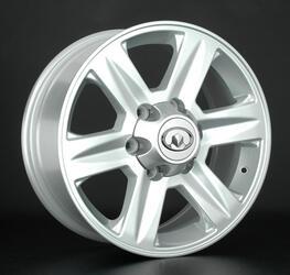 Автомобильный диск литой Replay GW7 7x17 6/139,7 ET 38 DIA 100,1 Sil