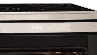 Электрическая плита AEG 43036IW-MN серебристый