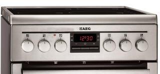 Электрическая плита AEG 47745IQ-MN серебристый