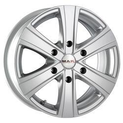Автомобильный диск Литой MAK Van6 6,5x16 6/130 ET 50 DIA 84,1 Silver