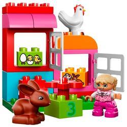 Конструктор LEGO DUPLO Лучшие друзья: курочка и кролик