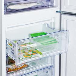 Холодильник с морозильником BEKO CN328220S серебристый