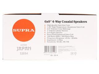 Коаксиальная АС Supra SJ-694